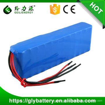 Batería de litio de 11.1V 17.6Ah 20.8Ah 18650 para la luz del jardín