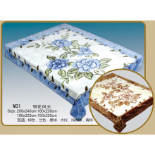 2016 New Design Acrylic Printed Blankets