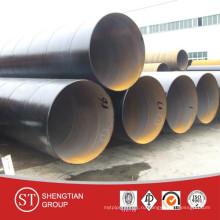Труба API 5L X52 SSAW Трубопровод природного газа / Линия SSAW