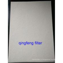 Membrane de filtre en fibre de verre de 1,0 micron