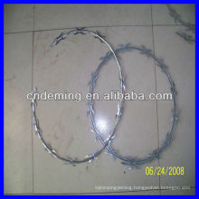 concertina barbed razor wire