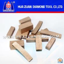 400мм-1600мм алмазный сегмент для резки мрамора (Гц382)