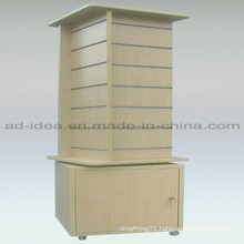 Shoes Slat Wall Stand/Exhibition Stand with Caster
