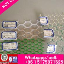 Malha da galinha / rede lisa plástica / polipropileno liso plástico da rede Forpolyethylene e plástico da grade