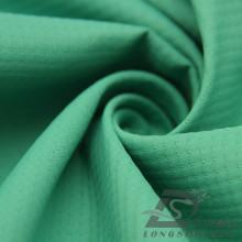Imperméable à l'eau et à l'extérieur Vêtements de sport en plein air Veste en coton Tissé en perles Jacquard 100% Polyester Pongee Fabric (E094)