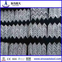 ASTM A36 Gr. Uma barra de aço de ângulo de ferro preto