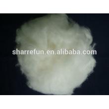 Fibra china Angora 100% pura angora blanca 15.5mic / 32mm