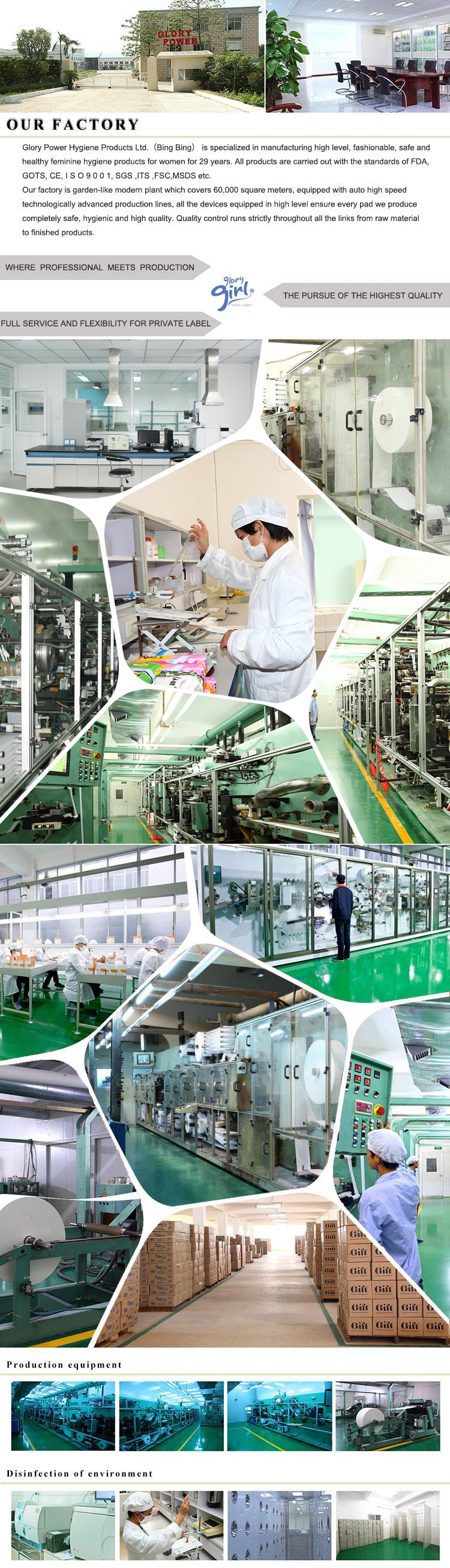 Sanitary Napkin Factories