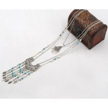 Ethnische Multi-Reihen von Halskette