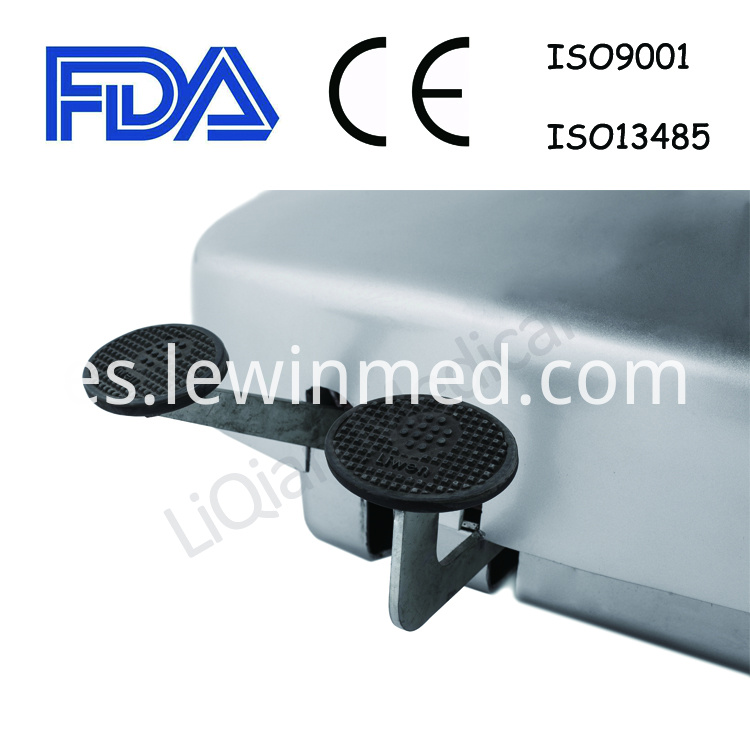 mechanical hydraulic surgical table