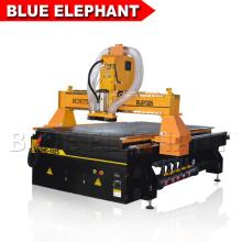 Pas cher prix routeur cnc 1325 avec collecteur de poussière, opération facile cnc routeur 3 axes machine de gravure sur bois avec contrôleur dsp