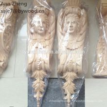 Antique Style and Wood Material Wood carving corbel