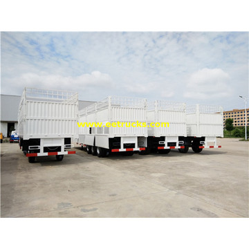 40ton 3 Axles Box Cargo Trailers