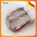 PB01 Custom Popular metal pin buckle for belt 1.4 inches metal buckle nickle color