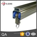 Pista de aluminio de la venta caliente o pista de la cortina con el sistema de la polea
