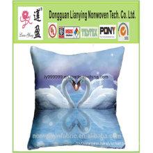 Home Decor Linen Cartoon Waist Pillow
