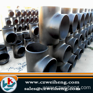 Q235 Seamless Pipe Tee Pipe fitting