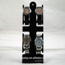 Strong Stand Black Acrylic Watch Holder