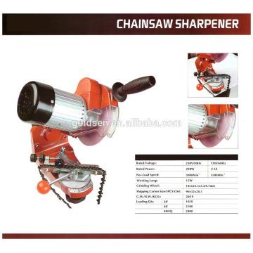 Professionelle 145mm Bench-montierte Chainsaw Chain Schärfmaschine Werkzeug Grinder Elektrische 230w Chainsaw Sharpener