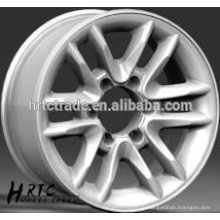 Jantes en alliage léger HRTC 16 * 8.0 et 17 * 8.0 / roues en aluminium haute performance pour voitures