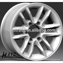 HRTC 16*8.0 and 17*8.0 car alloy wheels/high performance aluminum wheels for cars