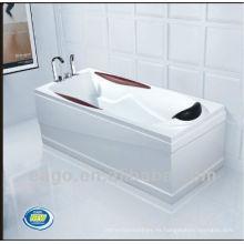 EAGO bañera de acrílico bañera ordinaria LK1003