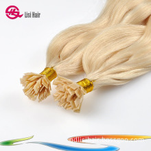 Top Quality Blonde Nail Hair Extensions