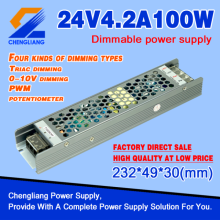 24V 100W 0-10V Dimmable LED Power Supply