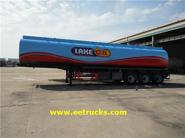 48000L Fuel Tanker Trailers