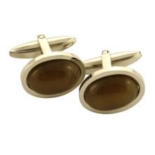 Forme des bas-coutures de boutons de manchette à bas prix en acier inoxydable pour hommes