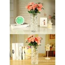 Cadeau de vase en verre cristal Style européen