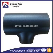 ASME B16.9 Butt - welding Carbon Steel pipe fittings Reducing Tee