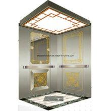 Ascensor para pasajeros Lift Lift Mirror Etching Aksen Hl-X-063