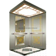 Passagier Aufzug Lift Spiegel Radierung Aksen Hl-X-063