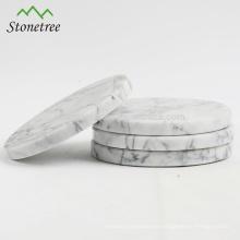 Conjuntos de montaña redonda de mármol