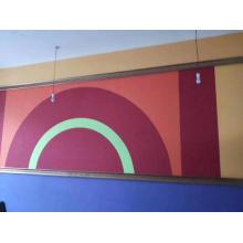Panneau mural acoustique en PET