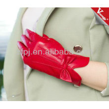 2013 leather shell cashmere lined glove