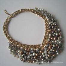 Bead Langding Jewelry Multi Stands Alloy Bead Necklace