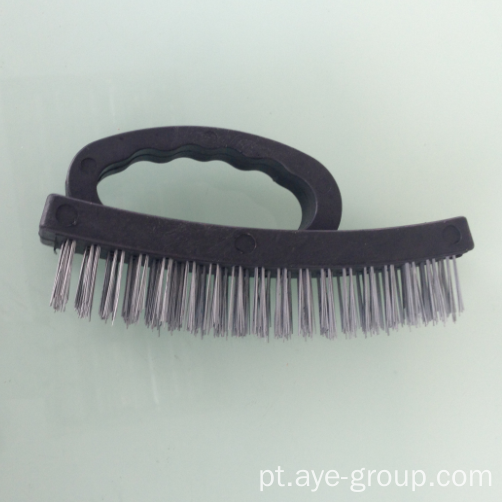 "6.5 ""Heavy Duty Grip Plastic Handle Wire Brush"