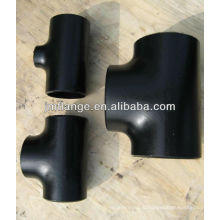 carbon steel WPB A234 pipe fitting tee