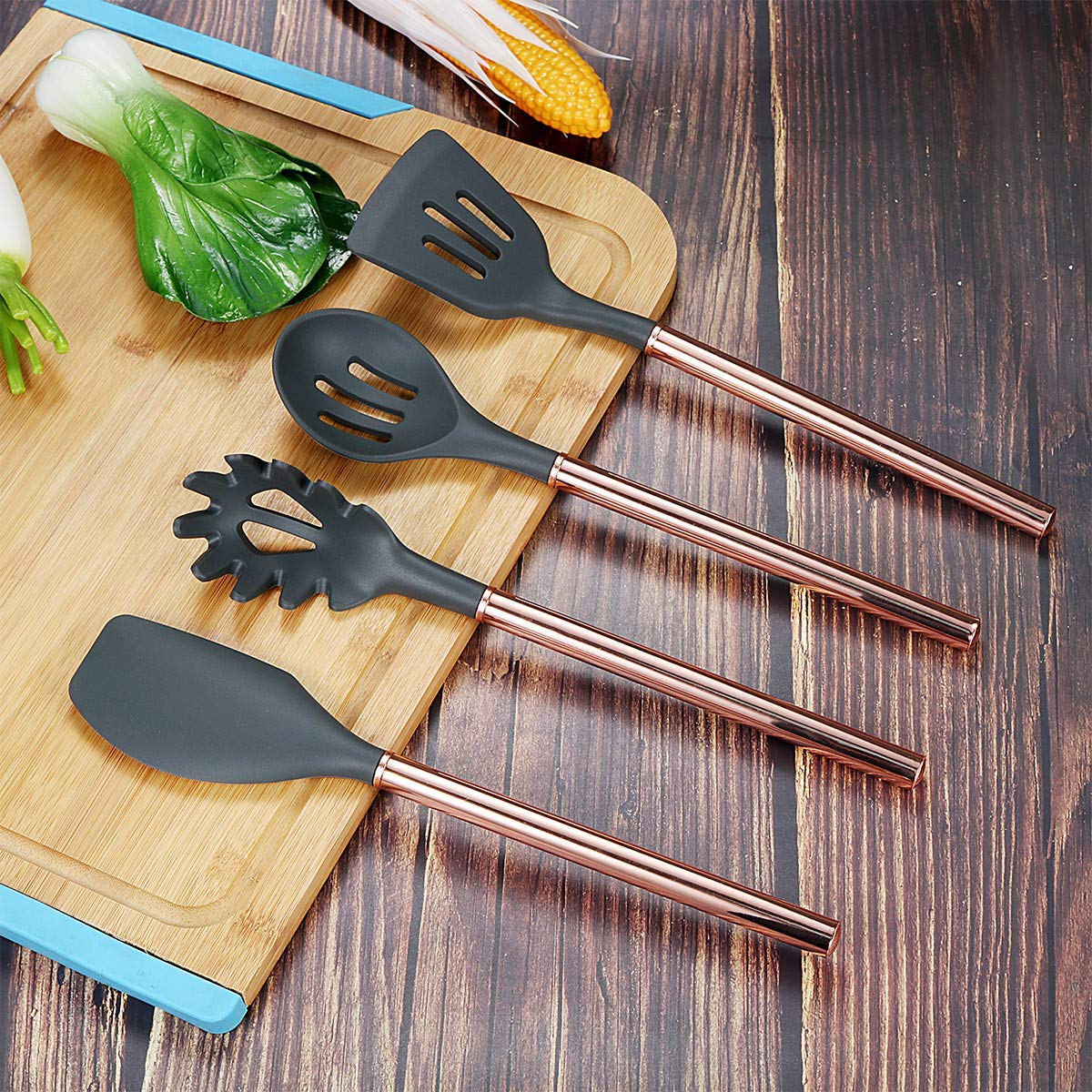 core silicone kitchen utensils