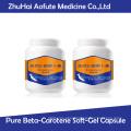 Natural Pure Beta-Carotene Soft-Gel Capsule
