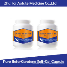 Natural Pure Beta-Carotene Soft-Gel Capsule
