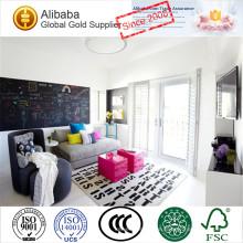 Kundenspezifische weiße beschichtete Fensterläden Windows mit Top-Qualität und günstigen Preis