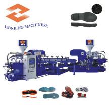 Dreh-PVC-Schuh-Sohle, die Maschine herstellt