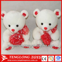 popular and soft valentine's gifts couple plush bear toy