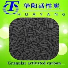 Máscara de gas con filtro de carbón activado a base de carbón