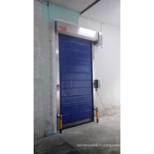 Porte d'auto-réparation à haute vitesse pour chambre froide