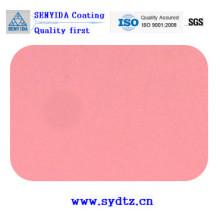 Pulverlackfarbe von Pink