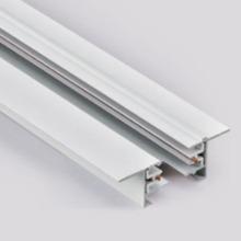 Rail de système d'éclairage encastré pour la lumière